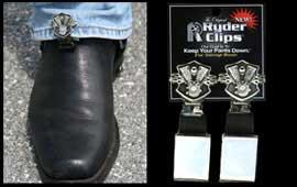 Stirrup//Strap Boot Clip Ryder Clips Engine//Shield ESS-FC